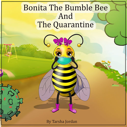 Bonita The Bumblebee And The Quarantine (Coloring Book) w/ Mask