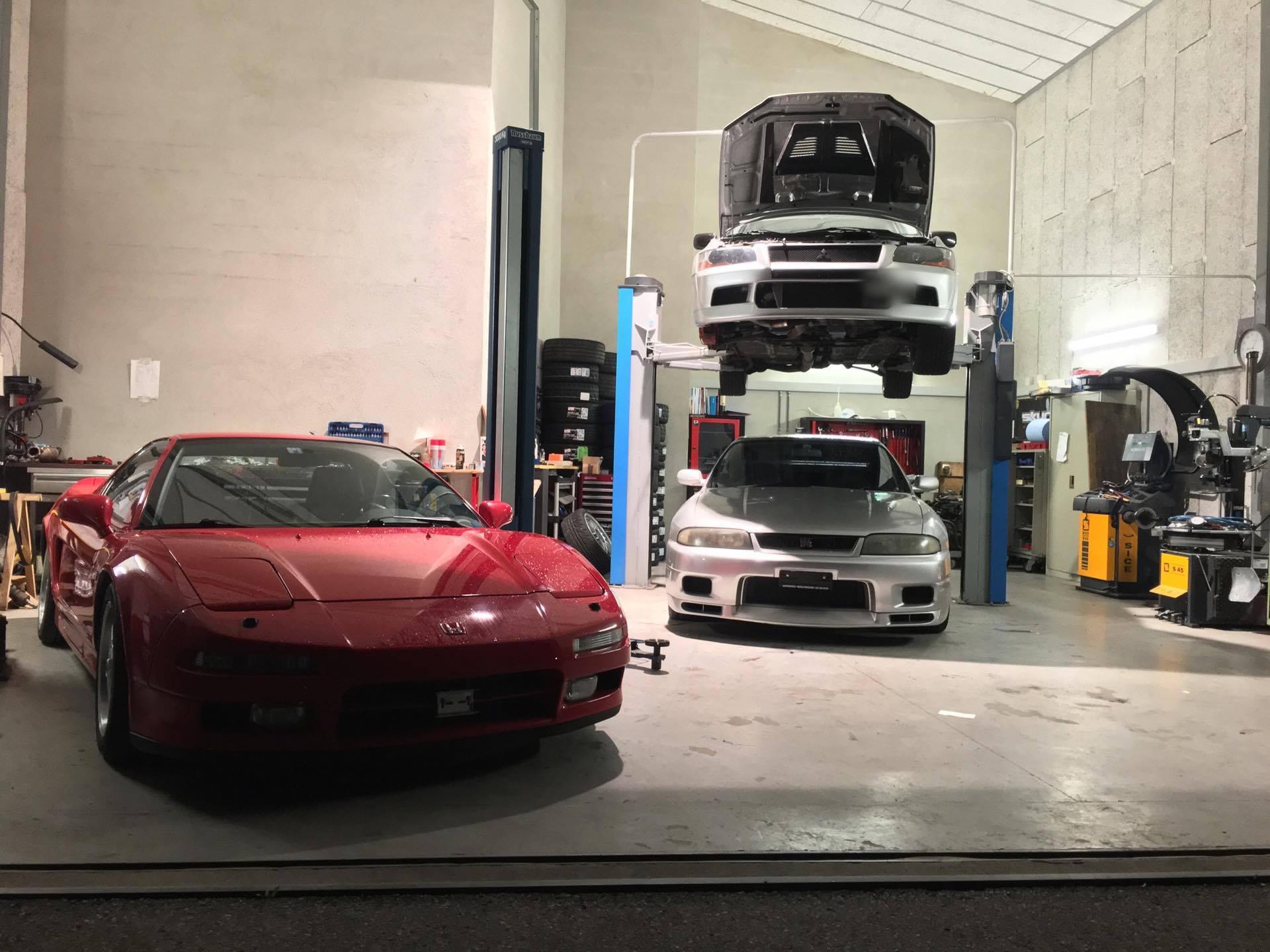 NSX - Evo 7 - GTR33