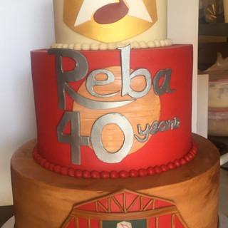 REBA'S 40 YEARS