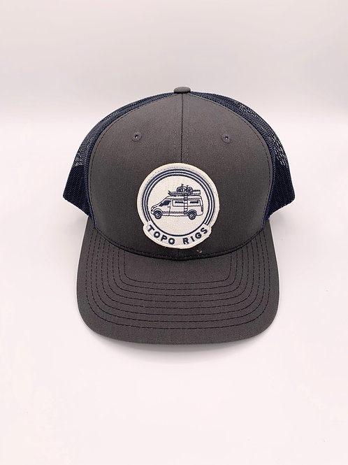 Topo Rigs logo hat