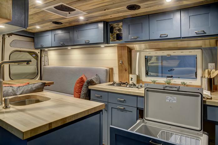 Promaster campervan