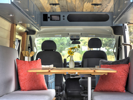 Dodge Ram Promaster Campervan Build-out.
