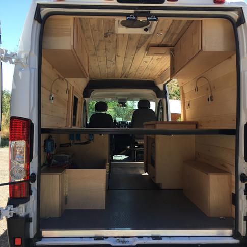 Custom campervan
