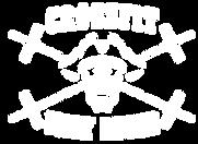 Crossfit Jolly Roger logo skull with barbell crossbones