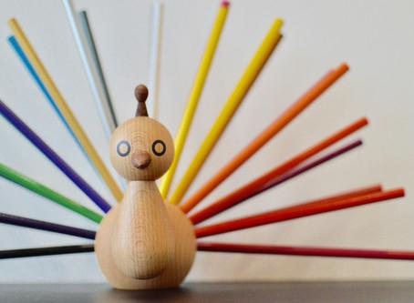 北欧の色鉛筆