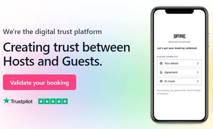 Superhog Digital Trust platform - Airlinen Linen Hire