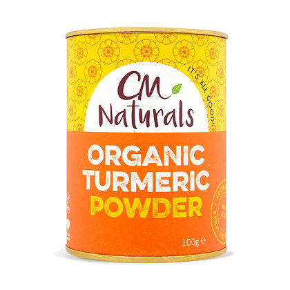 CM Naturals Organic Tumeric Powder 100g