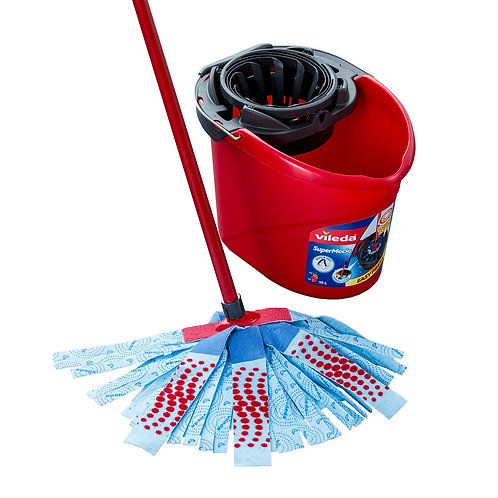 Mop and Bucket Kit, Plastic