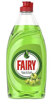 Fairy Washing Up Liquid Green Apple Orchard, 383ml
