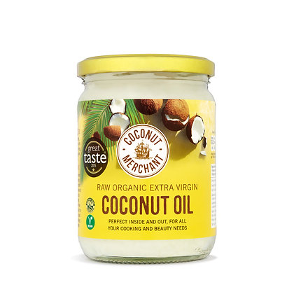 Organic Raw Extra Virgin Coconut Oil (500ml)