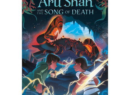 Book Review: Aru Shah and the Song of Death
