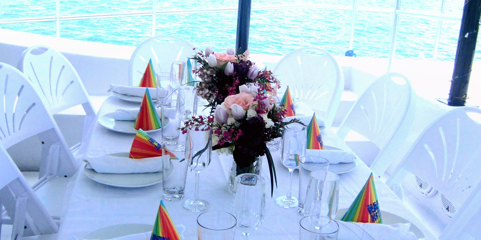 Sunset Dinner Cruise Saturday 29th May 6:00pm-9:00pm