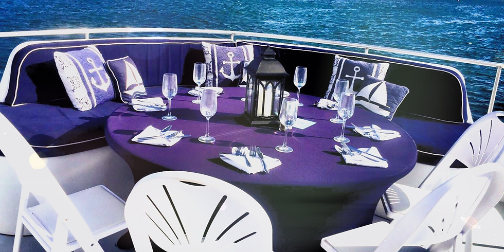 Sunset Dinner Cruise Saturday 5th June 6:00pm-9:00pm