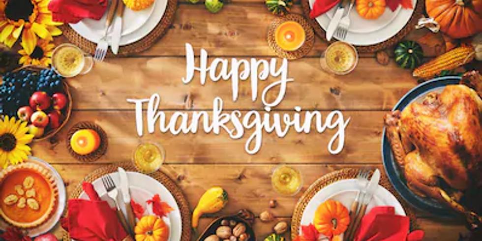 Special Thanksgiving Dinner Cruise Thursday 26th November 4:00pm-7:00pm