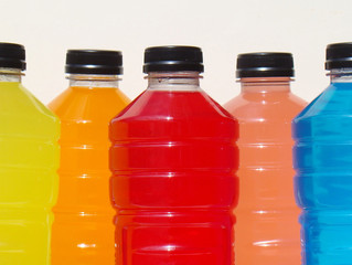 Children consuming sports drinks unnecessarily