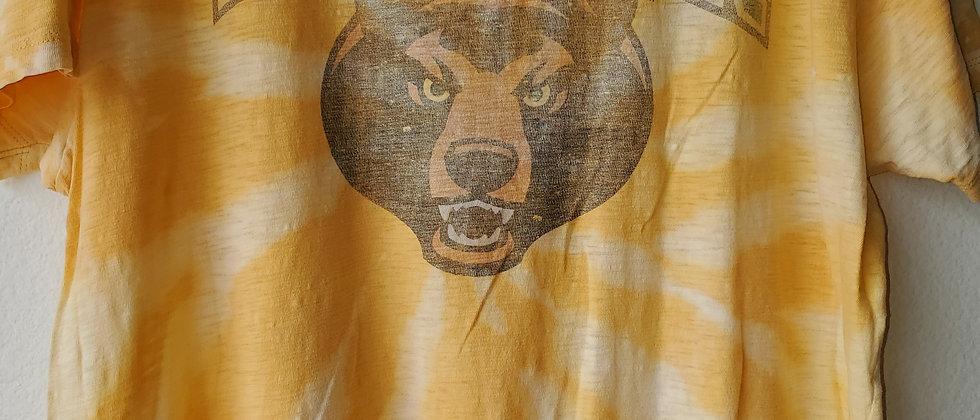 Vintage Tie Dye BAYLOR Shirt-2XL