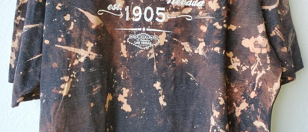 Vintage Tie Dye LAS VEGAS 1905 Shirt-XL