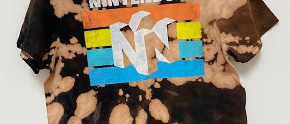 Vintage Tie Dye NINTENDO-Medium