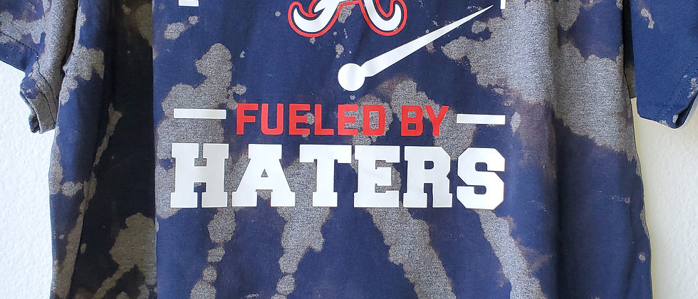 Vintage Tie Dye ATLANTA-FUELED BY HATERS Shirt-XL