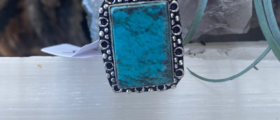 Howlite Ring Size 6.5