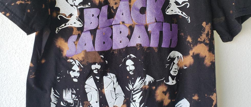 Black Sabbath Acid Splashed Tee Shirt
