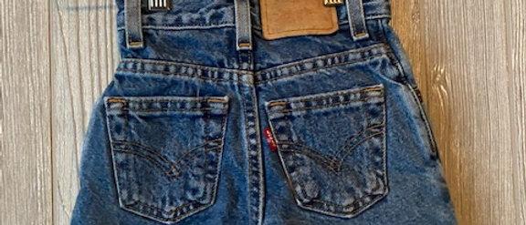Vintage Kids Levis Cut Off Shorts Size 3T