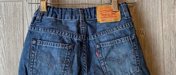 Vintage Kids Levi's Cut Off Shorts Size 7