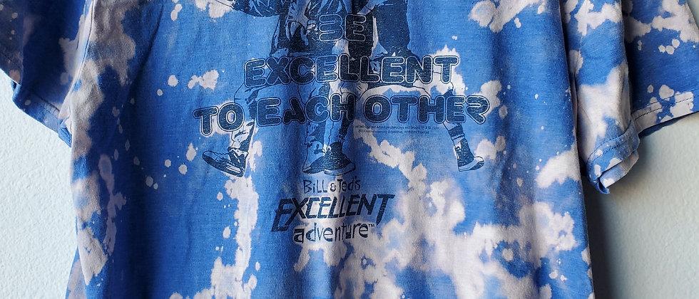 Vintage Tie Dye BILL & TED'S BE EXCELLENT Shirt-Medium