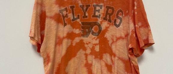 Vintage Tie Dye FLYERS Shirt-XL