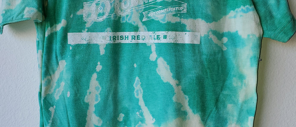 Vintage Tie Dye O'CONNELL'S IRISH RED ALE Shirt-Large