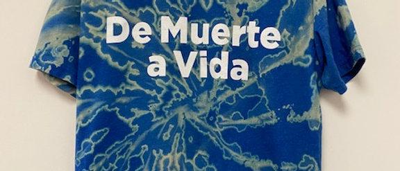 Vintage Tie Dye De Muerte a Vida Shirt-Large