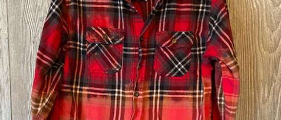 Youth Flannel Size 14