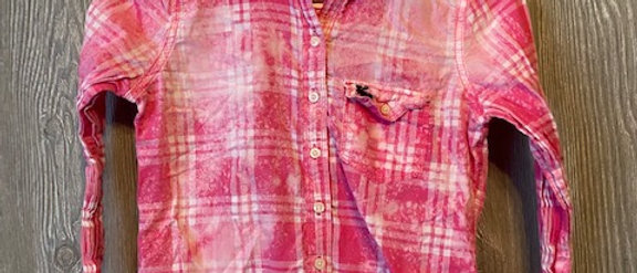 Youth Lightweight Plaid Size 12