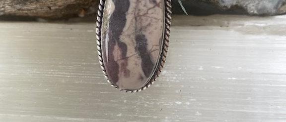 Porcelain Jasper Ring Size 6