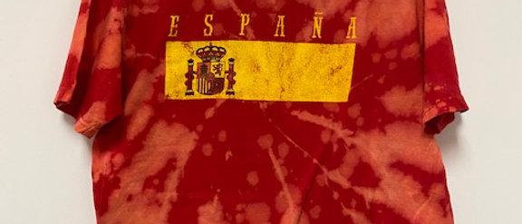 Vintage Tie Dye Espana Shirt-XL