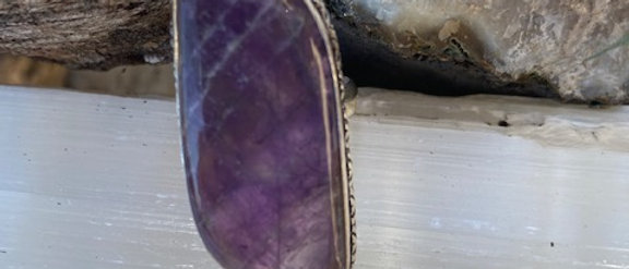 Amethyst Lace Ring Size 6