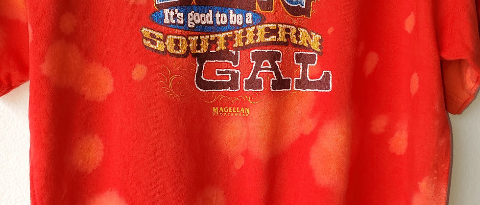 Vintage Tie Dye GOOD TO BE A SOUTHERN GIRL Shirt-Large