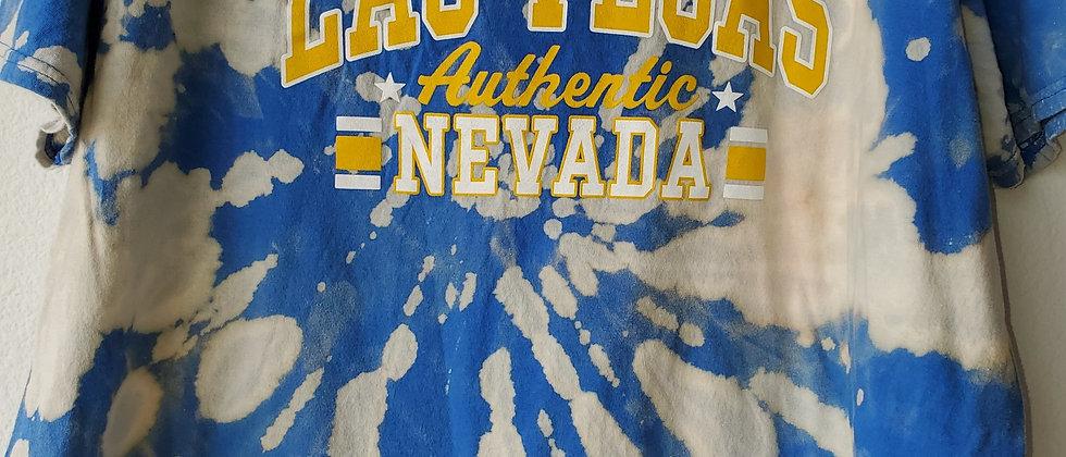 Vintage Tie Dye LAS VEGAS Shirt-Large