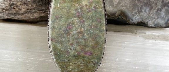 Ruby Fuchsite Ring Size 9