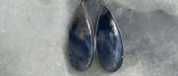 Stick Agate Earrings