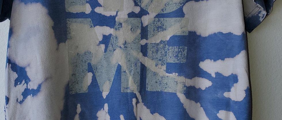 Vintage Tie Dye HOME TEXAS Shirt-Medium