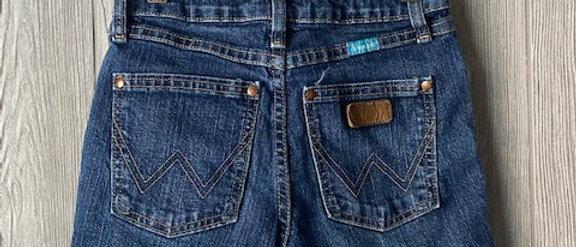 Vintage Kids Wrangler Cut Off Shorts Size 12