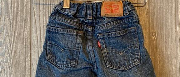 Vintage Kids Levis Cut Off Shorts Size 2T