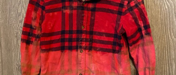 Youth Flannel Size 7