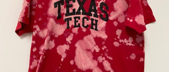 Vintage Tie Dye Texas Tech Shirt-XL