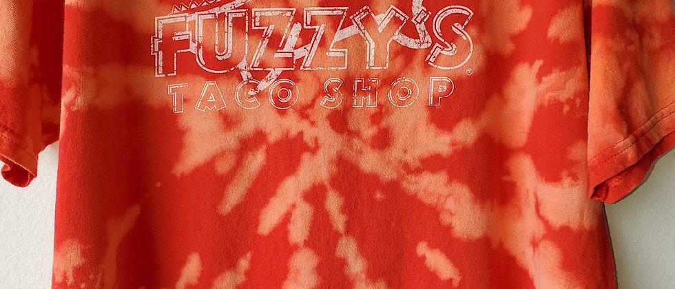 Vintage Tie Dye FUZZYS TACO SHOP Shirt-XL