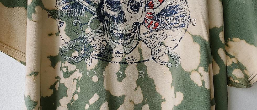 Vintage Tie Dye ROATAN PIRATE Shirt-2XL