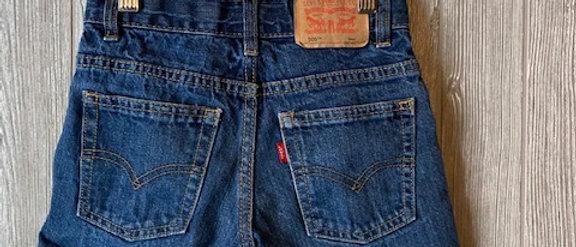 Vintage Kids Levi's Cut Off Shorts Size 6