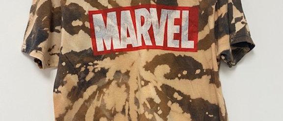 Vintage Tie Dye MARVEL Shirt-Medium