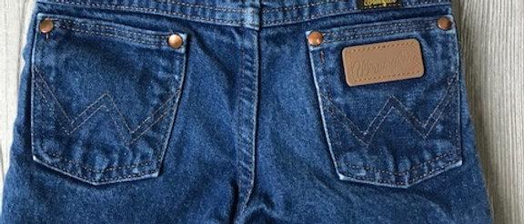 Vintage Kids Wrangler Cut Off Shorts Size 7 Slim